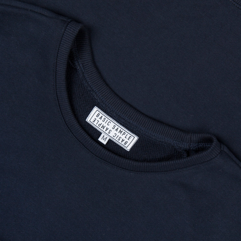 "Свитшот Basic Sample - Sweatshirt Navy ""Geisha"""