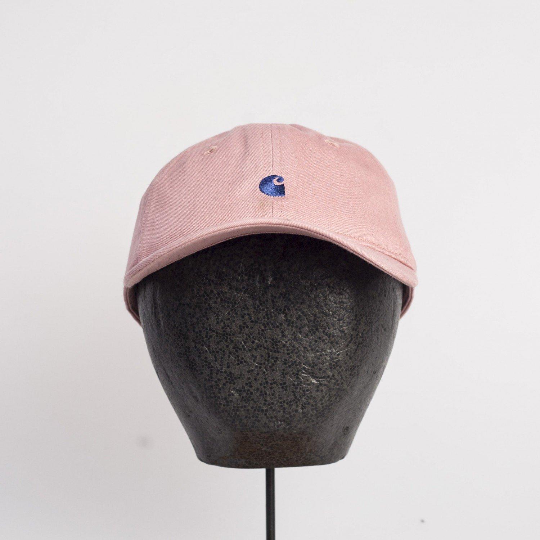 Кепка Carhartt WIP - Madison Logo Cap Soft Rose/Sapphire