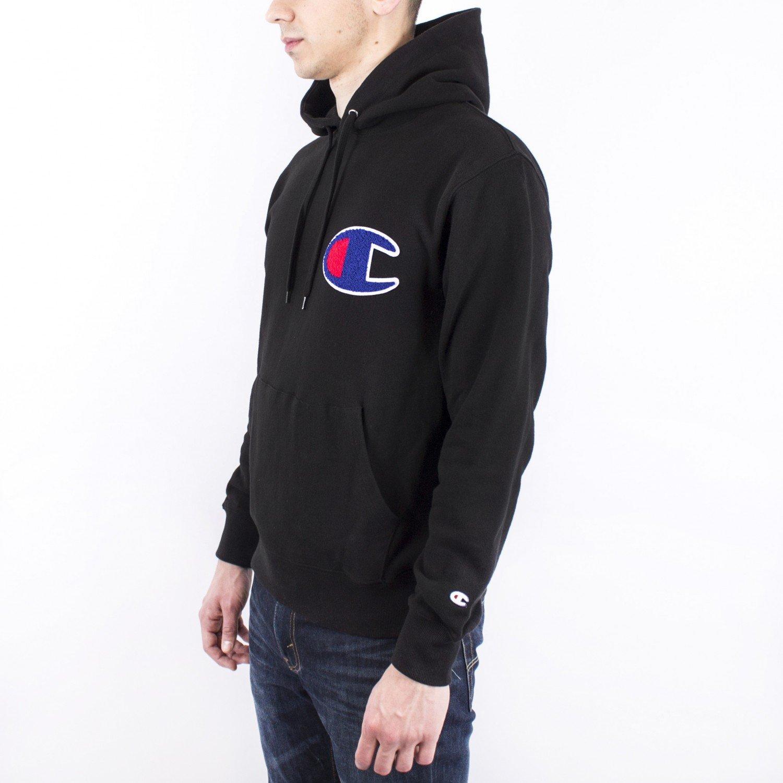 Толстовка Champion - Action Style Hoodie in Black