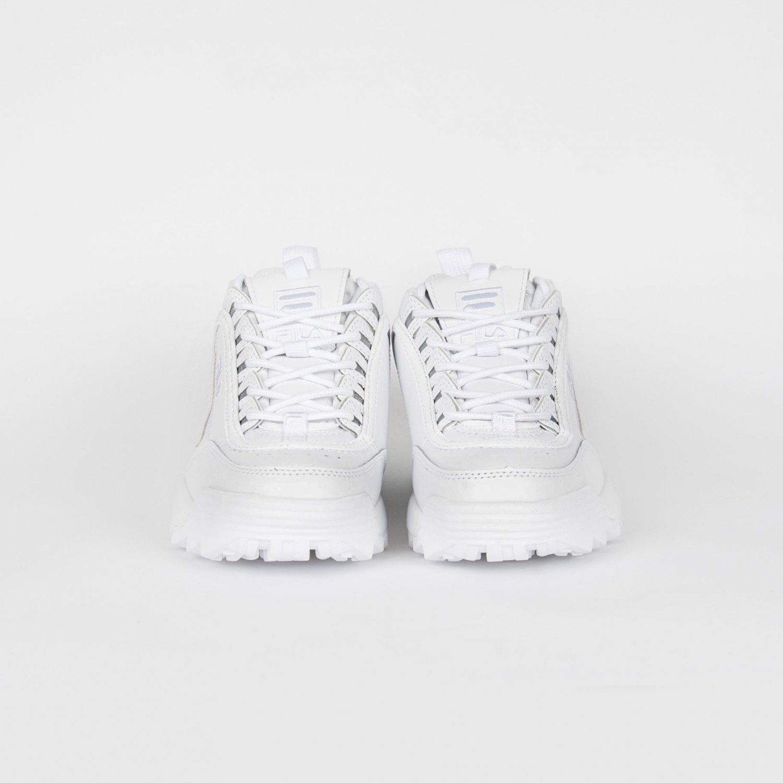Кроссовки женские FILA - Disruptor II Premium All White