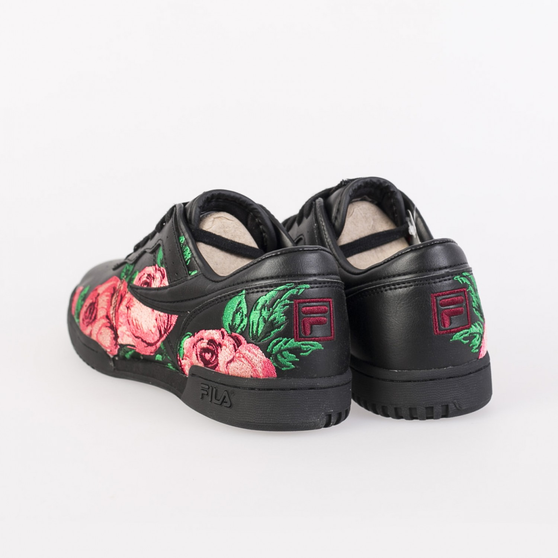 Кроссовки женские Fila - OG Fitness Embroidery Black