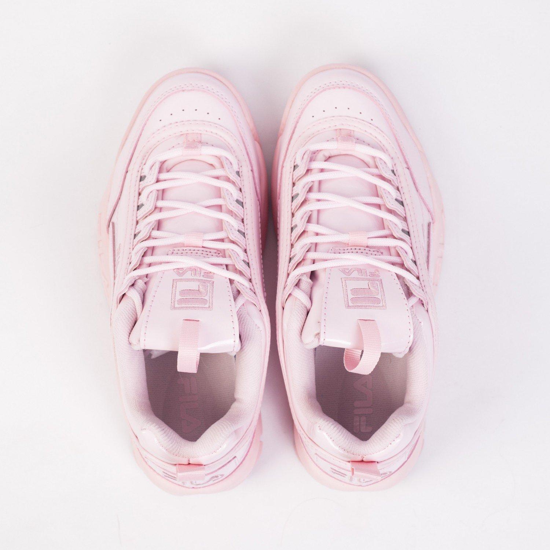 Кроссовки женские FILA - Disruptor II Premium Patent Pink