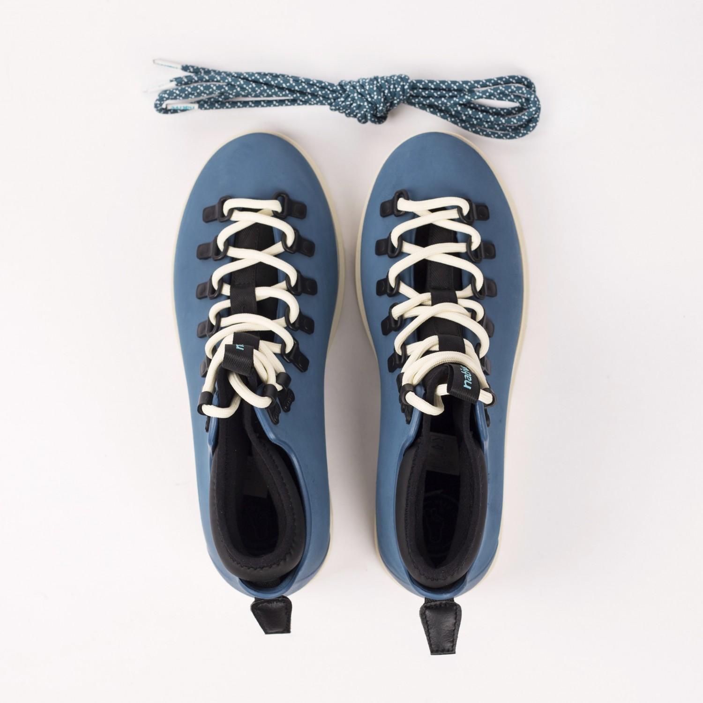 Ботинки зимние Native - Fitzsimmons Trench Blue / Bone White