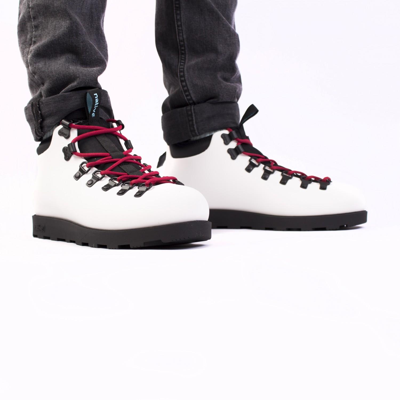 Ботинки зимние Native - Fitzsimmons Shell White / Jiffy Black