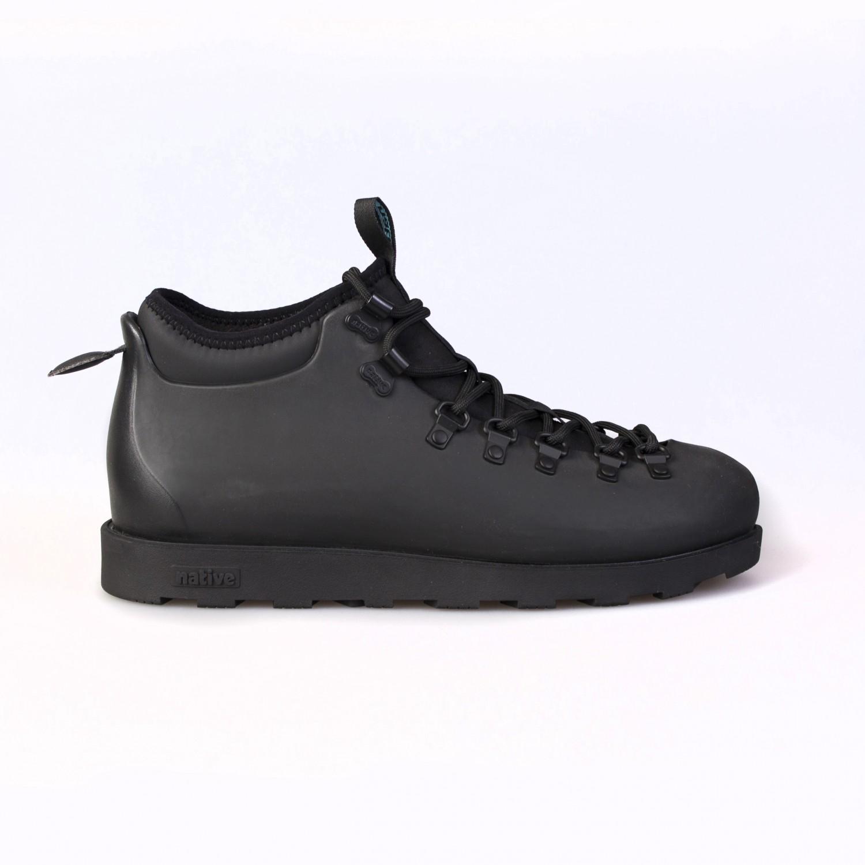 Ботинки зимние Native - Fitzsimmons Jiffy Black / Jiffy Black