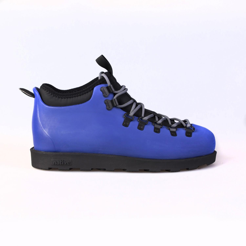 Ботинки зимние Native - Fitzsimmons Reflex Blue / Jiffy Black