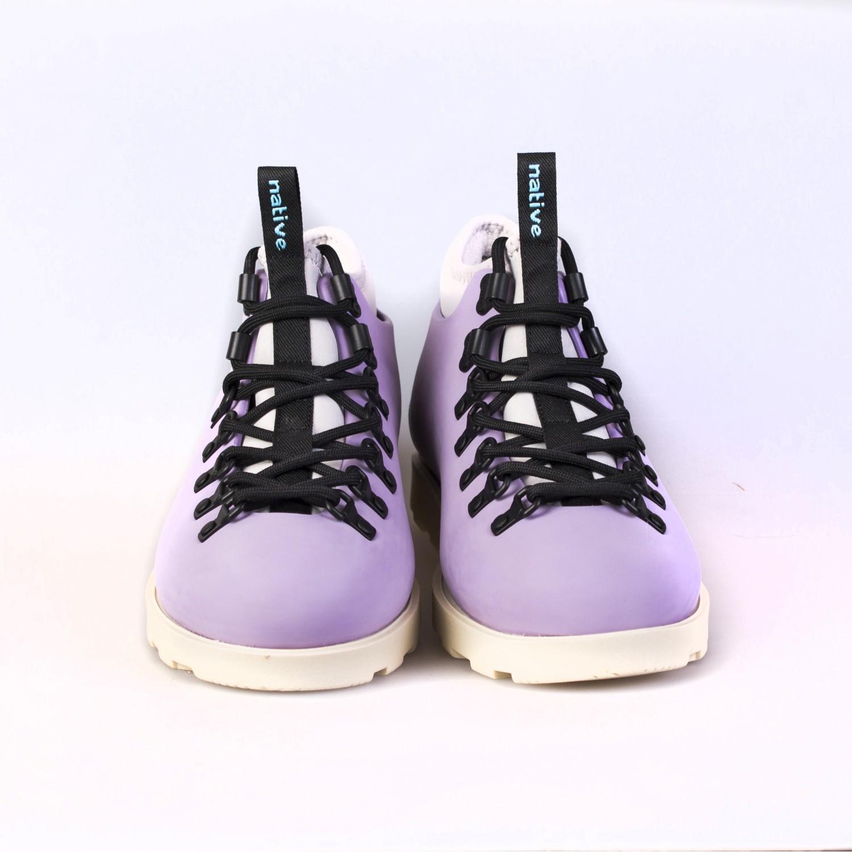 Ботинки зимние Native - Fitzsimmons Taro Purple / Bone White