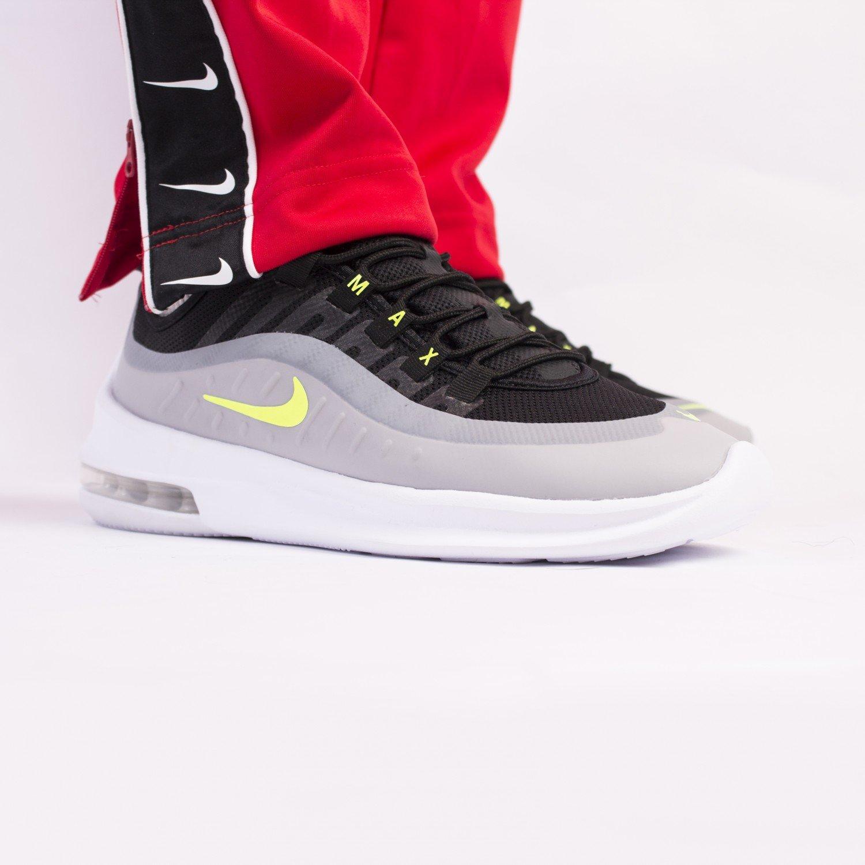 Кроссовки Nike - Air Max Axis Black/Volt/Wolf Grey