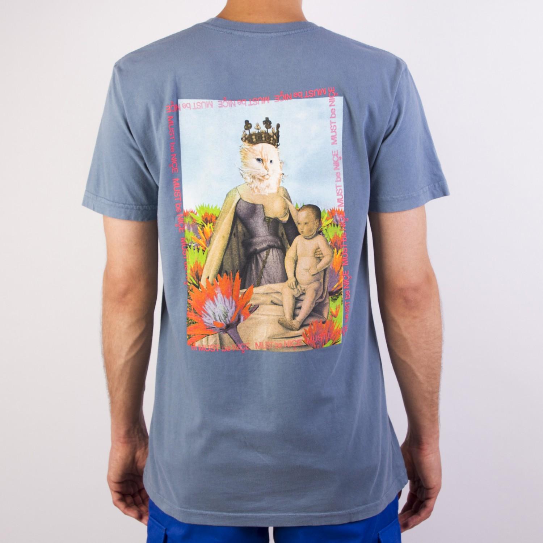 Футболка RIPNDIP - Fourquet Madonna Powder Blue Tee