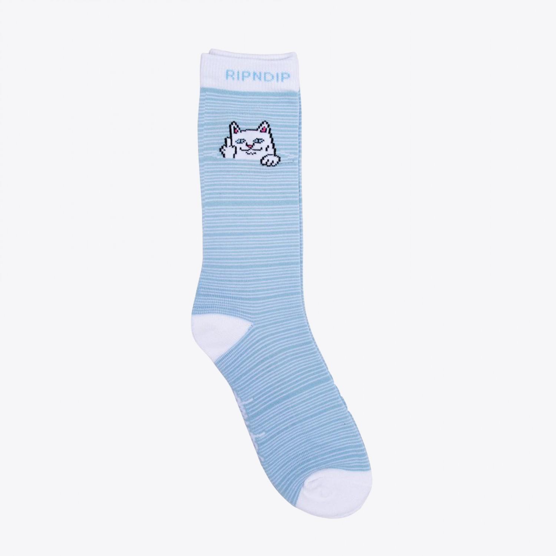 Носки RIPNDIP - Peek A Nerm Socks Blue