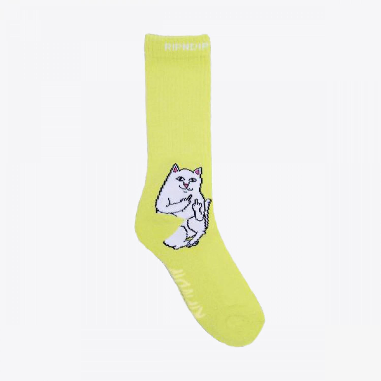Носки RIPNDIP - Lord Nermal Socks Yellow