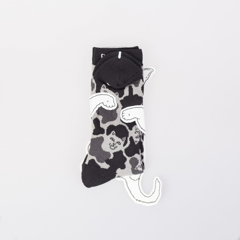 Носки RIPNDIP - Lord Nermals Socks Black Camo