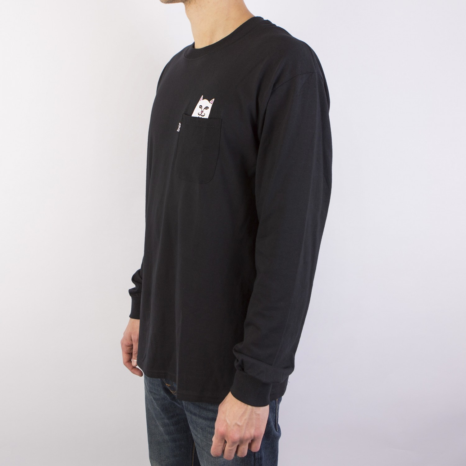 Лонгслив RIPNDIP - Lord Nermal L/S Black