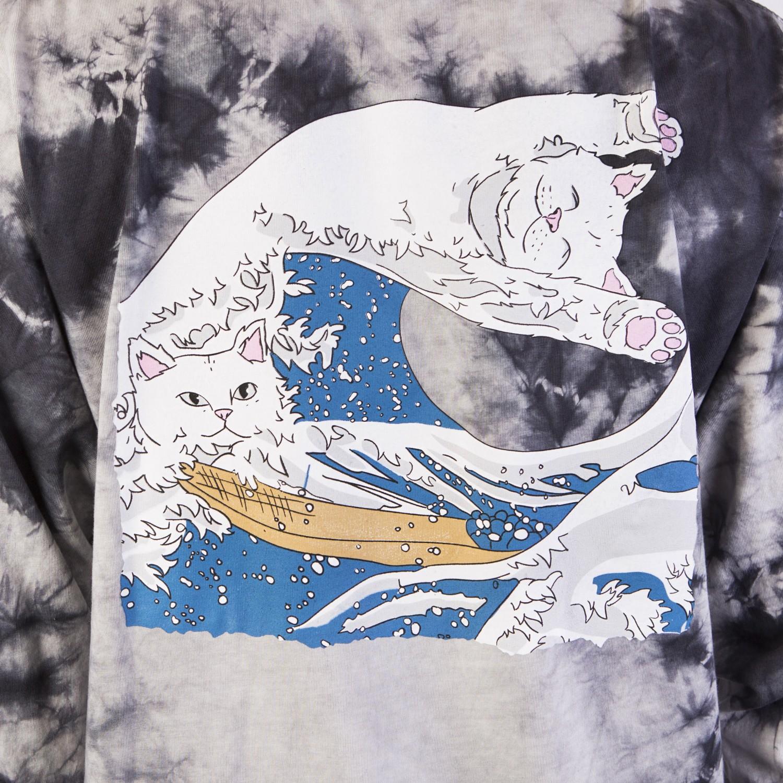 Лонгслив RIPNDIP - Great Wave L/S Tie Dye