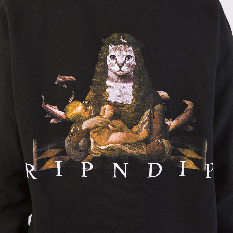Толстовка RIPNDIP - Mother Fish Baby Pullover Sweater Black
