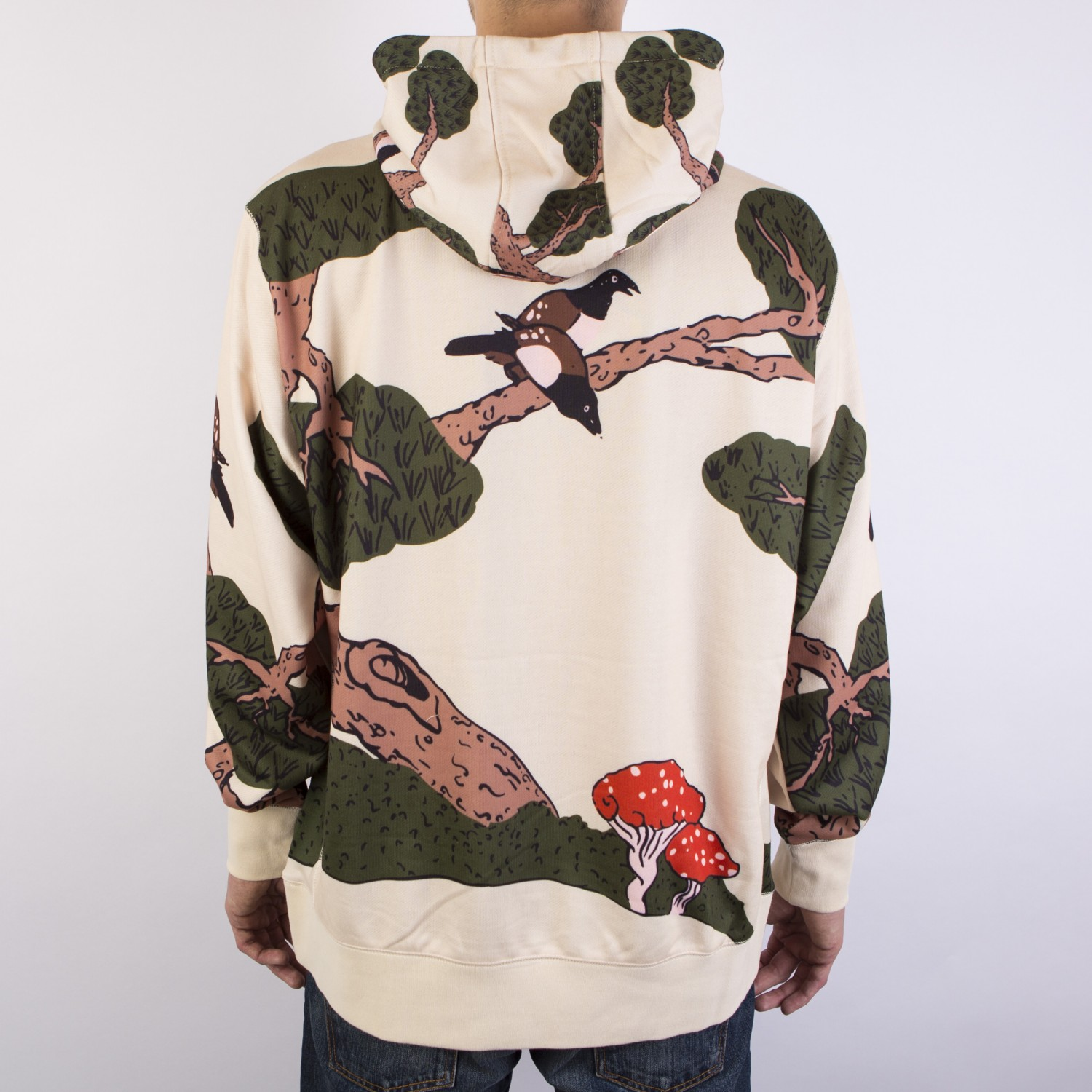 Толстовка RIPNDIP - Zen Pullover Sweater Natural