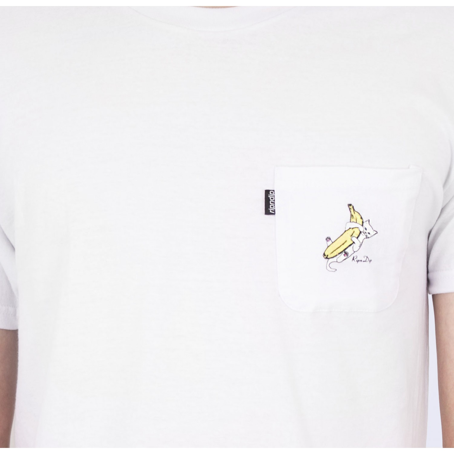 Футболка RIPNDIP - Nermal Banana Tee in White