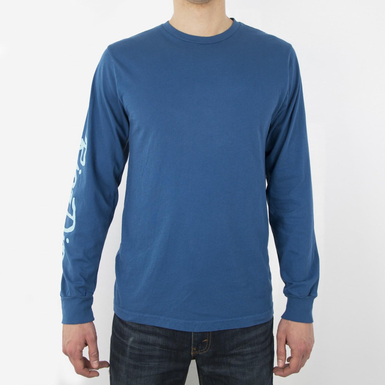 Лонгслив RIPNDIP - Nerm Beard L/S Cobalt Blue