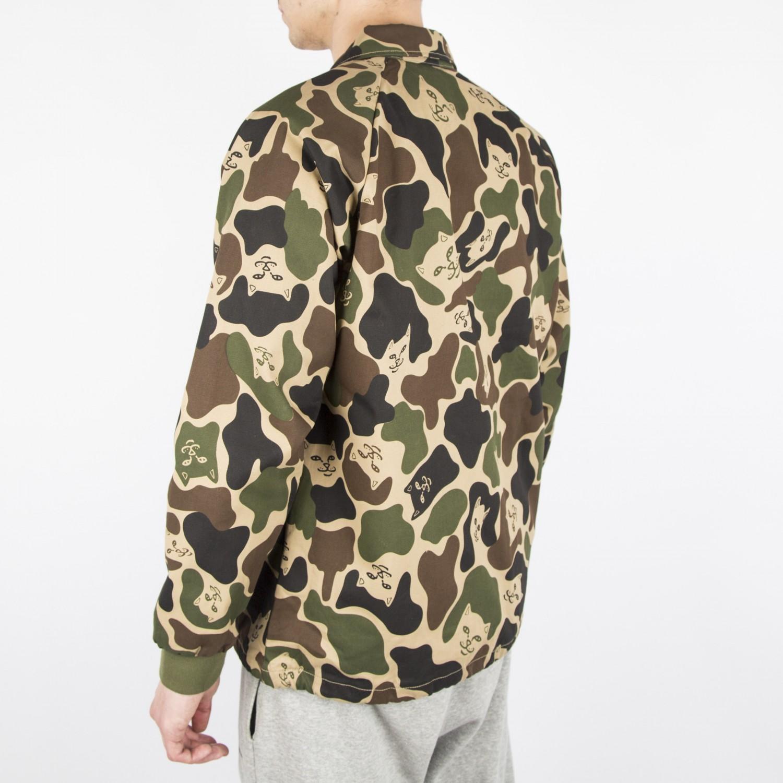 Куртка камо RIPNDIP - Twill Camo Jacket
