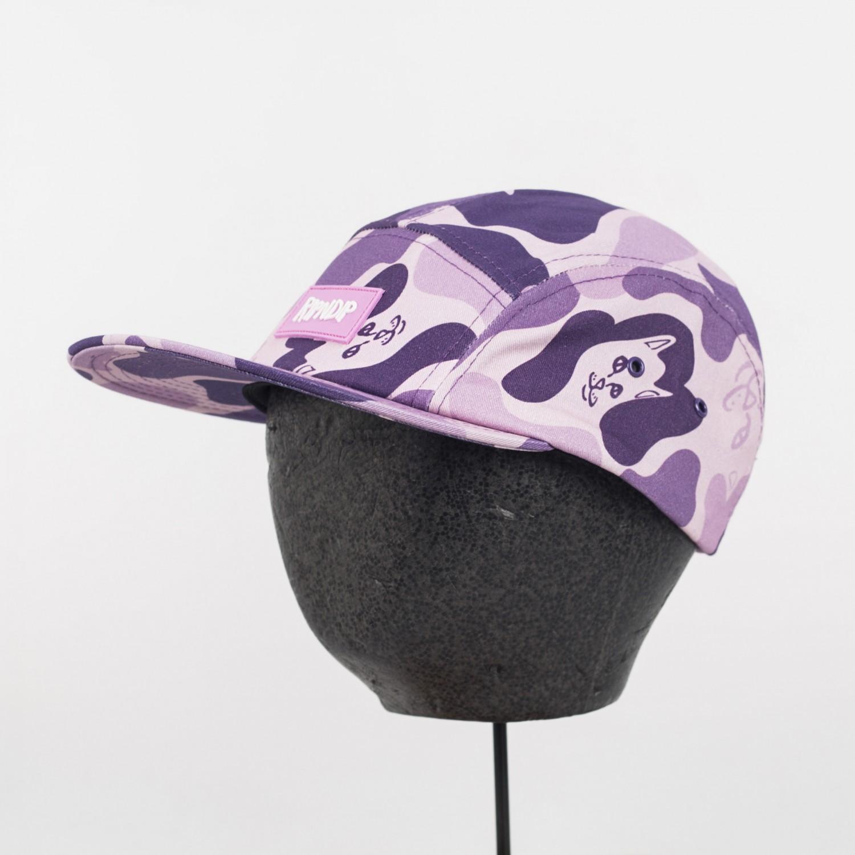Кепка RIPNDIP - Nerm Camo Camper Hat Purple Camo