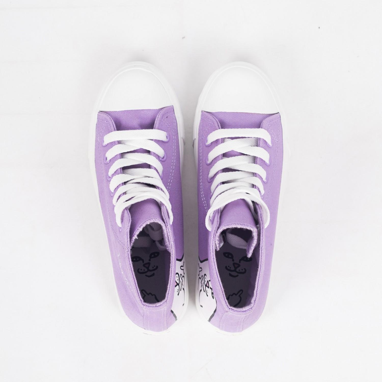 Кеды RIPNDIP - Lord Nermal High-Top Shoes Lavender
