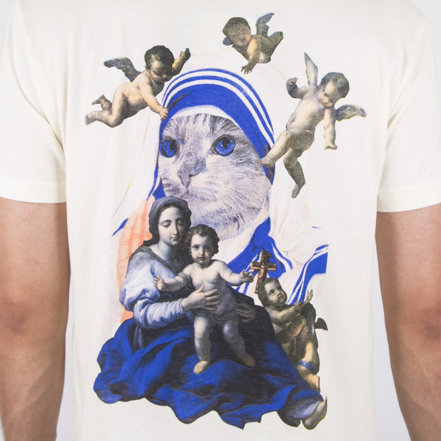Футболка RIPNDIP - Heavens Tee Natural