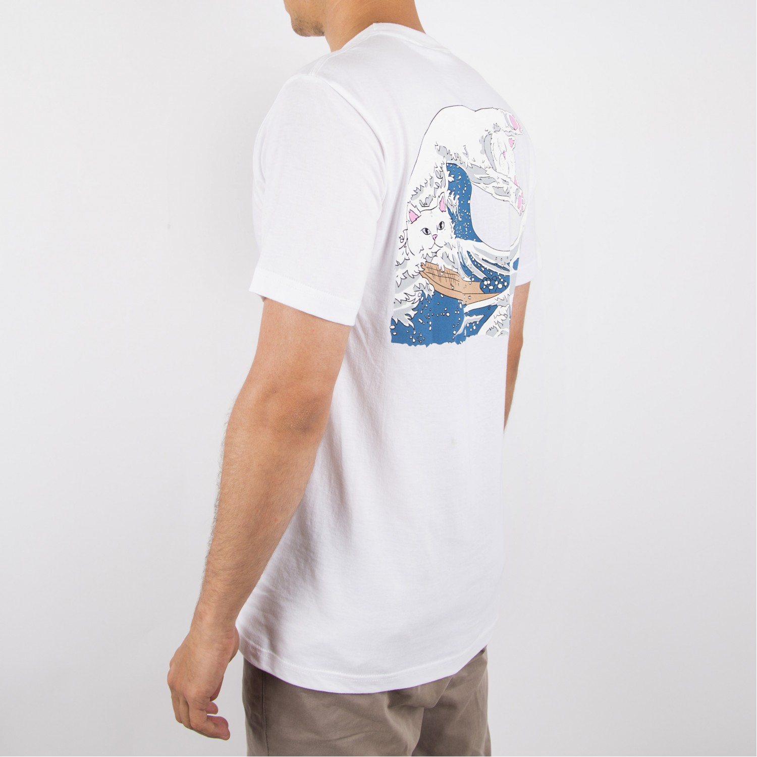 Футболка RIPNDIP - Great Wave Tee White